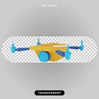 3d-rendering spion drone illustratie