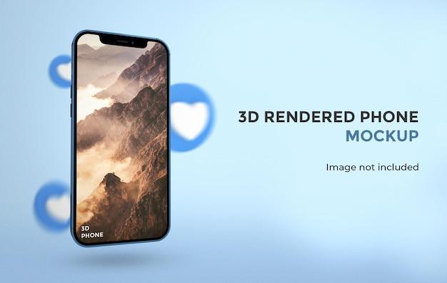 3d-rendering thuispictogram geïsoleerd