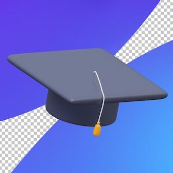 3d studie afstuderen hoed