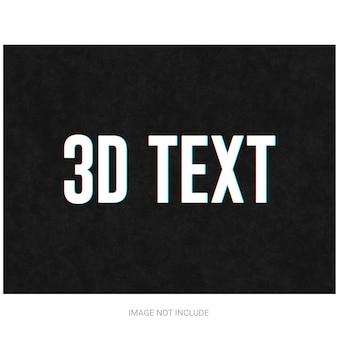 3d-teksteffect