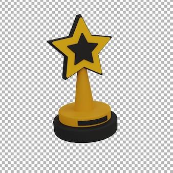 3d-trofee illustratio