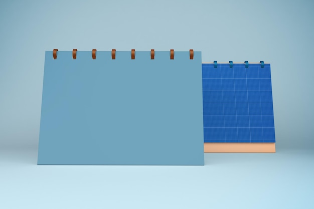 3d-weergave van kalendermodel