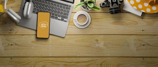 3d-weergave van smartphone-mockup