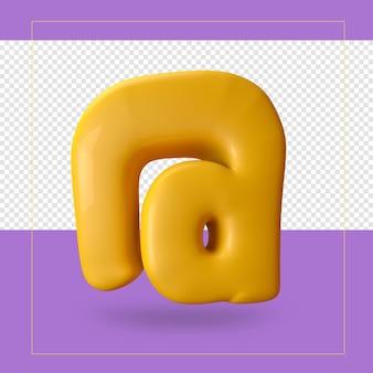 3d-weergave van symbool