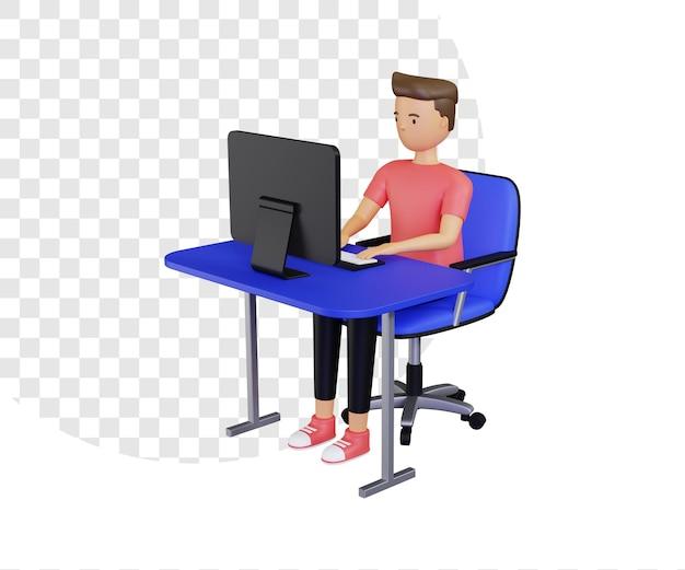 3d werk freelance online illustratie