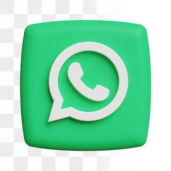 3d whatsapp-pictogram