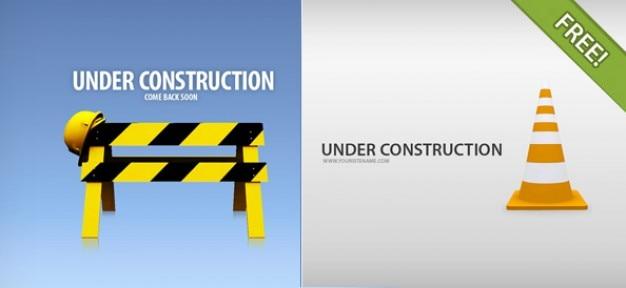 4 in pagine di costruzione