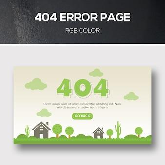 404 pagina di errore