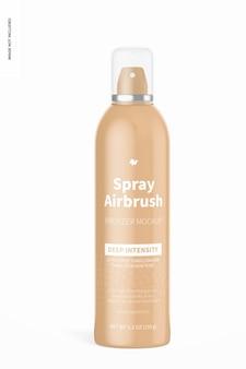 5.3 oz spray airbrush bronzer fles mockup