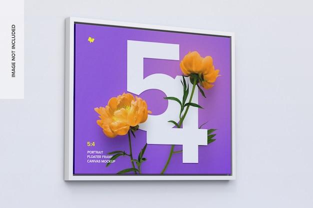 5: 4 liggend frame mockup in linkeraanzicht