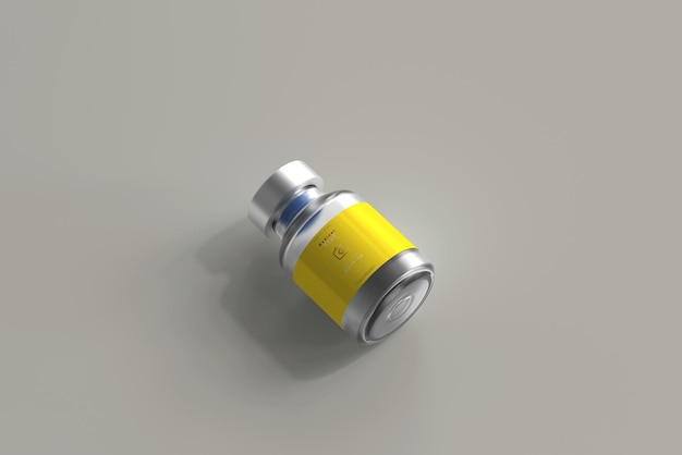 5 ml flesje fles mock-up