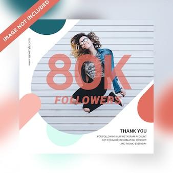 80k follower post sui social media