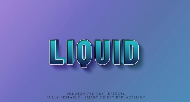 80s liquido verde effetto testo 3d stile