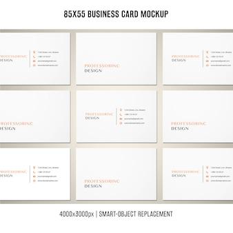 85x55 visitekaartjesmodel