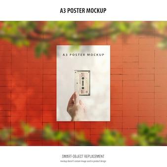 A3 poster mockup
