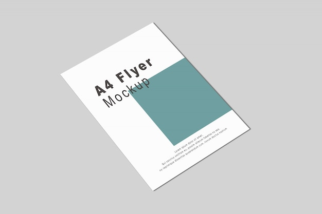 A4 / a5 flyer mockup