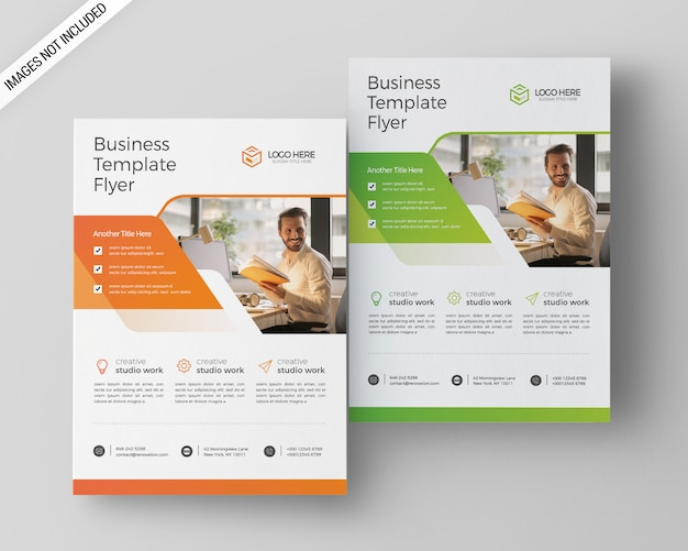 A4 business flyer-sjabloon
