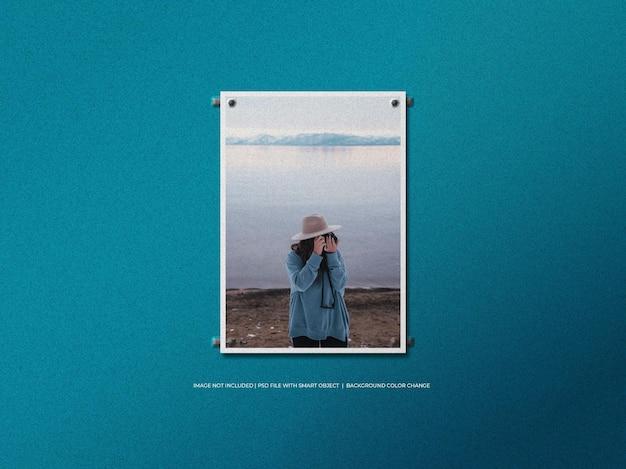 A4 papieren fotolijstmodel