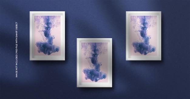 A4 papieren frame fotomodel