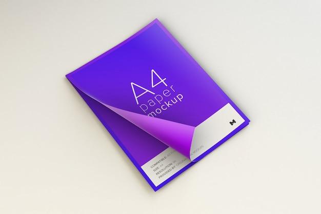 A4-papieren model