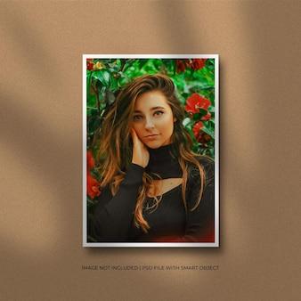 A4-papieren poster of fotolijstmodel