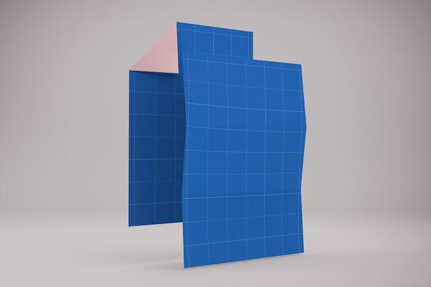 A4-papiermodel