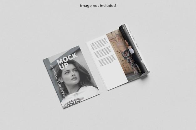 A4 tijdschriftmodel