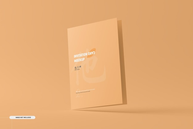 A5 a6 gevouwen brochure kaartmodel