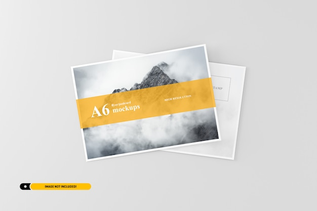 A6 cartolina / flyer mockup