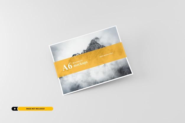 A6 postal / folleto maqueta