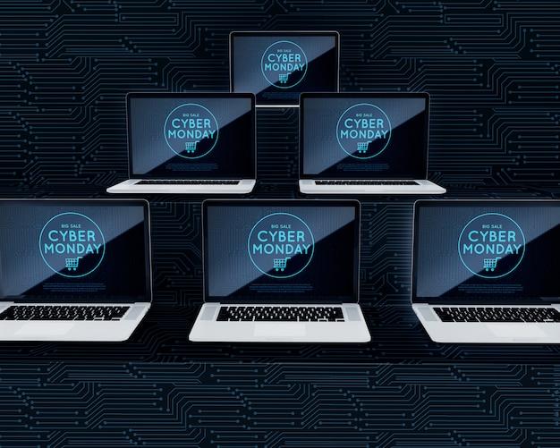Aanbieding laptops voor cyber op maandag