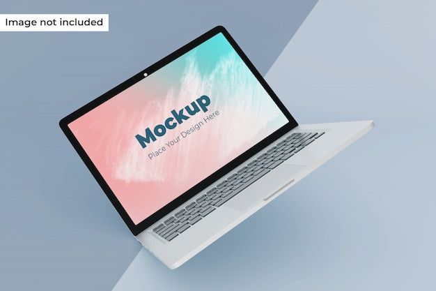 Aanpasbare zwevende laptop