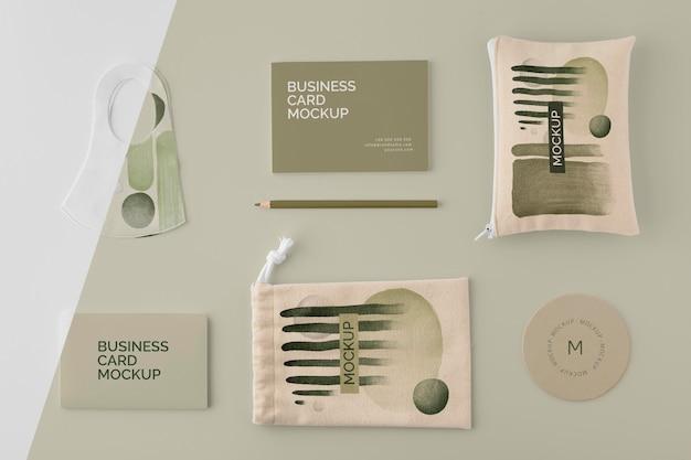 Abstract merchandise producten assortiment