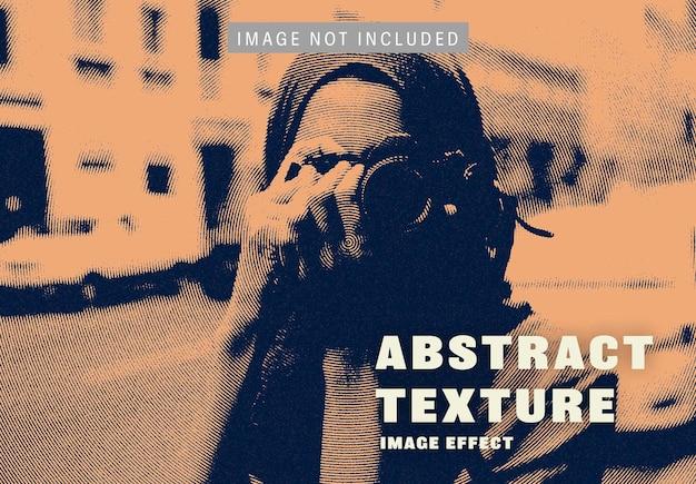 Abstract textuurbeeldeffect