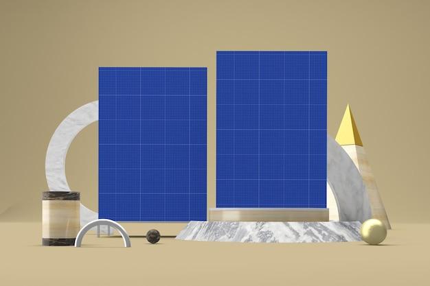 Abstract uithangbordmodel