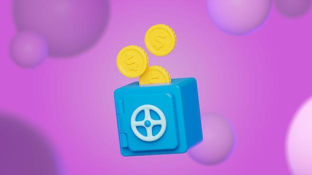 Abstracte achtergrond met geld