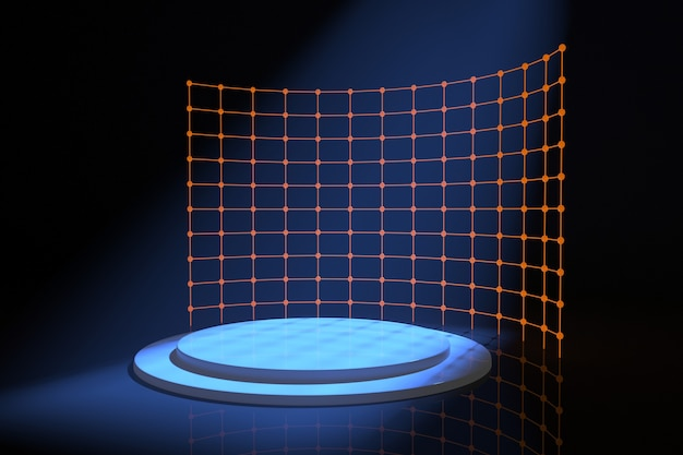 Abstracte achtergrondscène voor weergave van productweergave