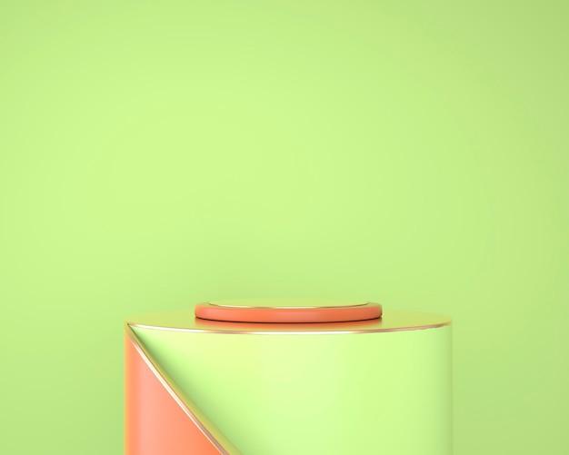 Abstracte geometrische vormen van productvertoning