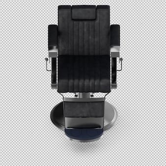 Los accesorios isométricos de la belleza 3d aislados hacen