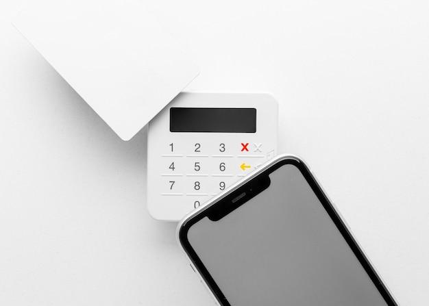 Acuerdo con la maqueta de la aplicación de pago inteligente