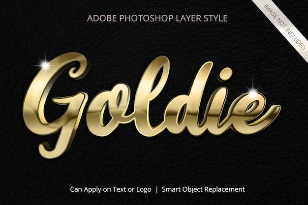 Adobe photoshop laagstijl teksteffect