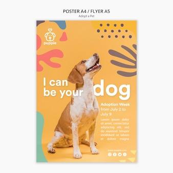 Adopteer een posterstijl voor huisdieren