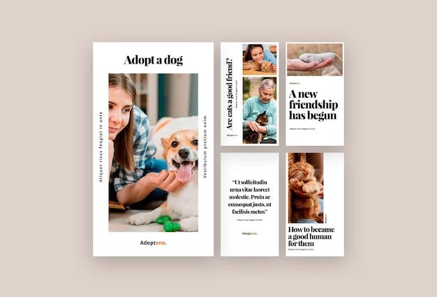Adoptie verhalen op sociale media