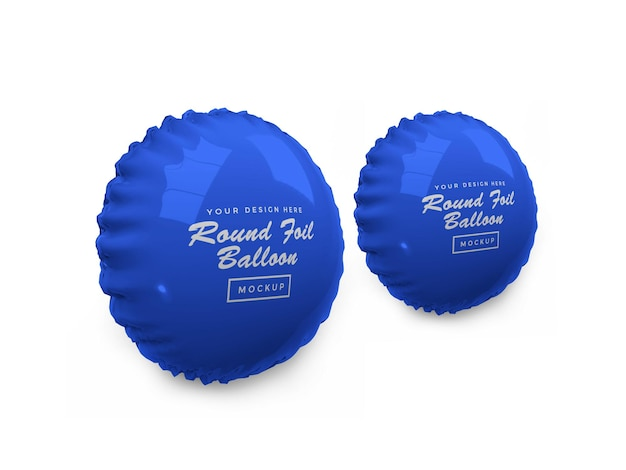 Afgeronde folieballon 3d-model