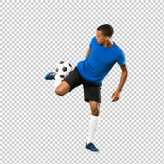 Afro-amerikaanse voetballer man