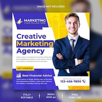 Agencia de marketing creativo diseño de publicaciones en redes sociales y instagram
