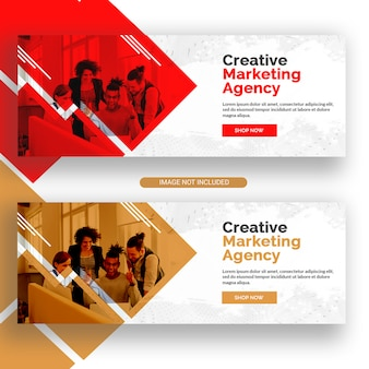 Agencia de marketing creativo facebook banner