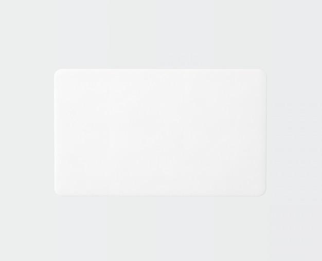 Alfombra de forma rectangular en blanco aislada