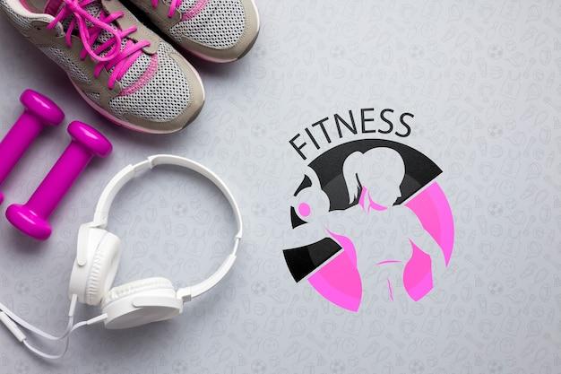 Allenamento di attrezzature per lezioni di fitness