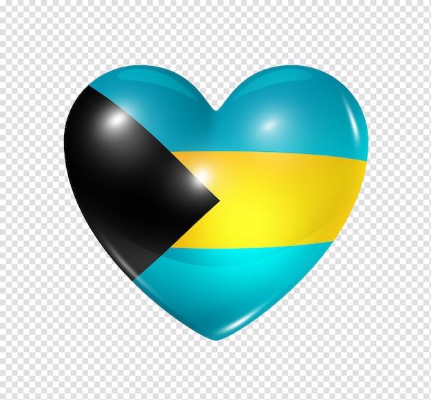 Amore bahamas, simbolo della bandiera del cuore
